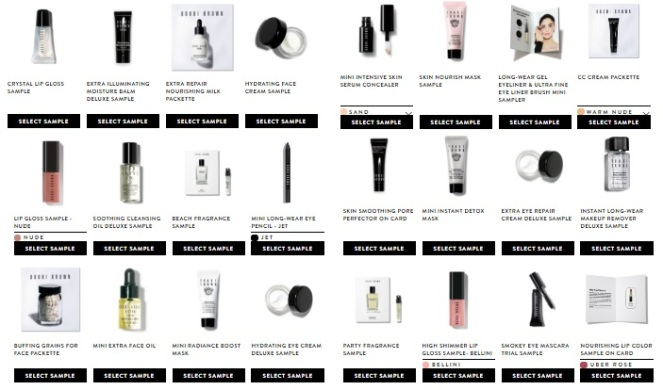 Bobbi Brown Samples