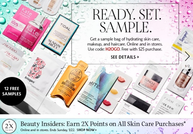 Sephora Sample Offer