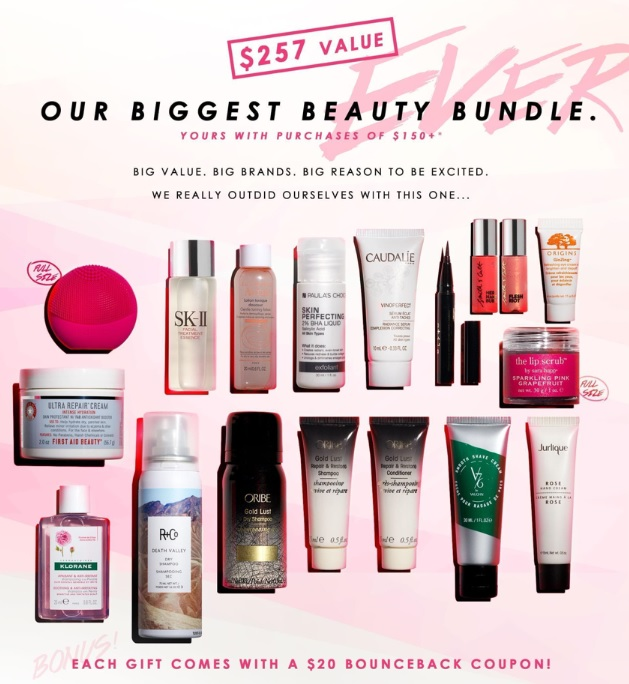 B-Glowing Fall Beauty Gift with Purchase – GWP Addict